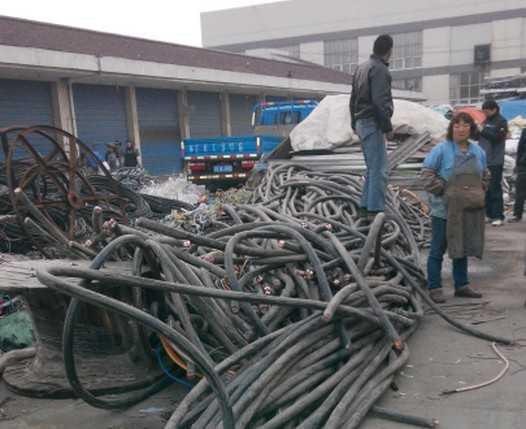 海底电缆回收